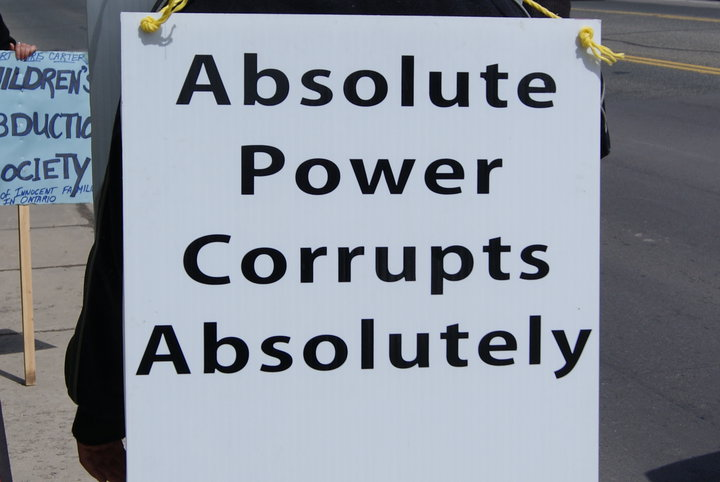 absolute power corrupts absolutely The phrase absolute power corrupts absolutely was first written by john emerich edward dalberg acton, also known as lord acton, in 1887 the full phrase is power tends to corrupt and absolute power corrupts absolutely.