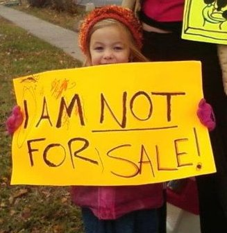 I am not for sale